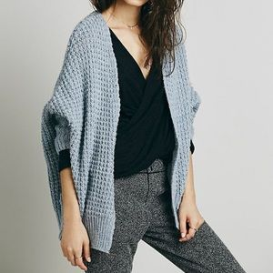 Free People Breeze Chunky Knit Cardigan Medium